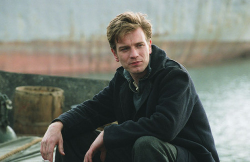 Ewan McGregor achtergrond entitled Young Adam
