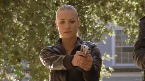 Yvonne Strahovski wallpaper titled Yvonne in Chuck