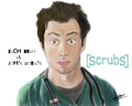 Zach - zach-braff fan art