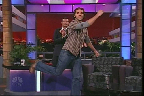 Zachary Levi on Carson Daly