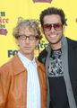 Zachary Levi with Andy Dick