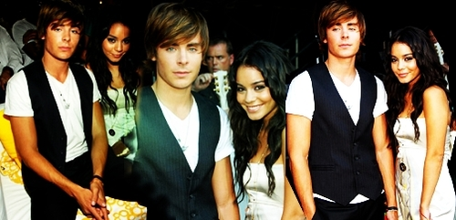 Zac Efron & Vanessa Hudgens wallpaper called Zanessa Fan Art