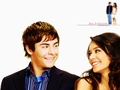 zac-efron-and-vanessa-hudgens - Zanessa wallpaper