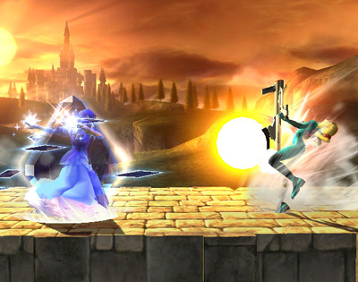 Zelda Special Moves