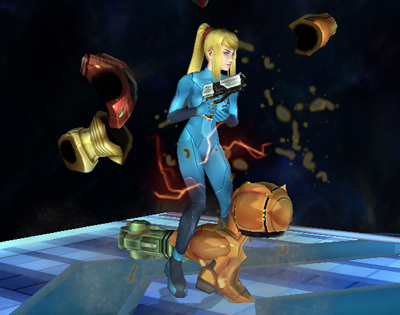 Zero Suit Samus's Final Smash