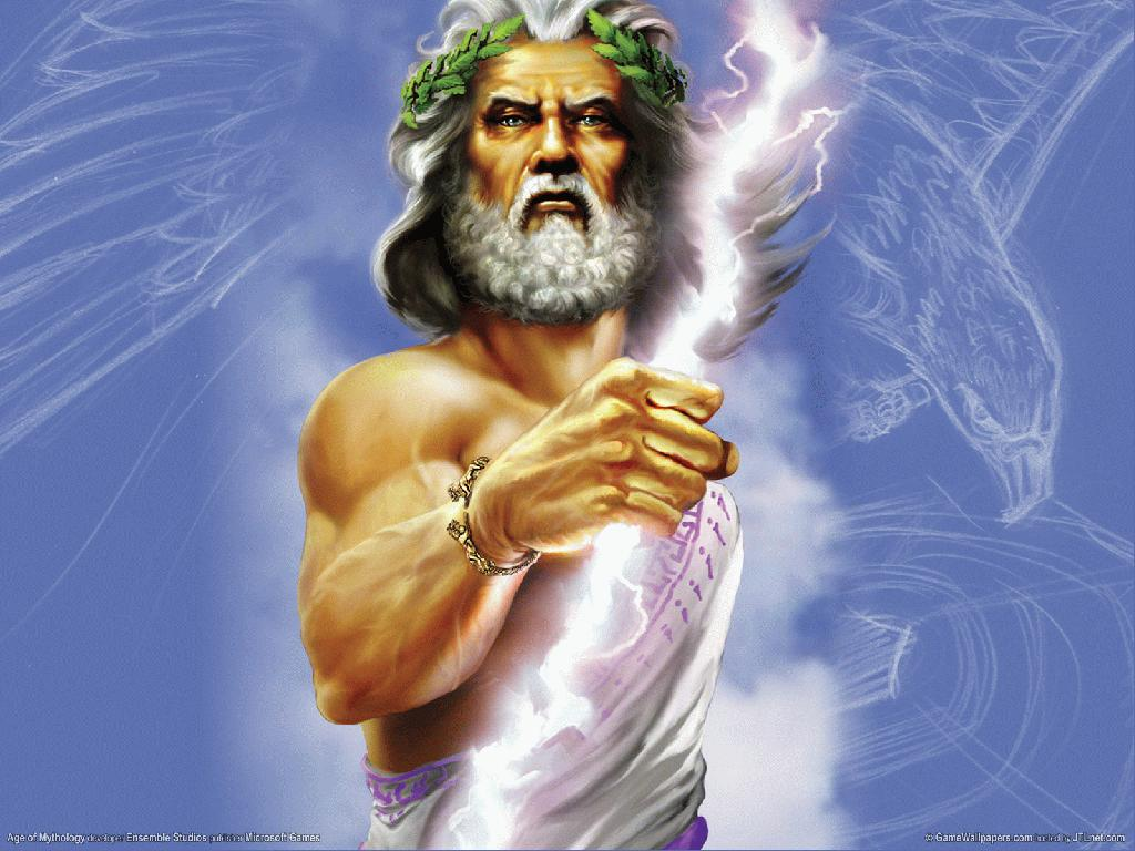 Zeus Greek Mythology Wallpaper 687267 Fanpop