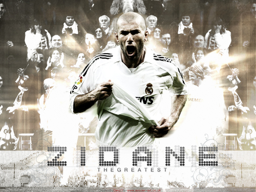 Soccer wallpaper entitled Zidane