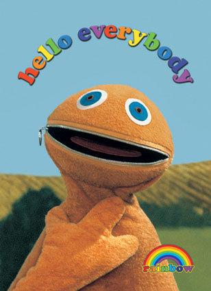 80's & 90's UK childrens television wallpaper entitled Zippy