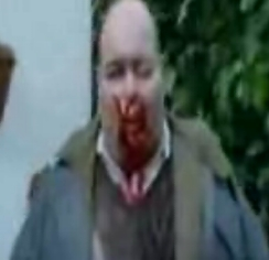 Zombies from Shaun Of The Dead