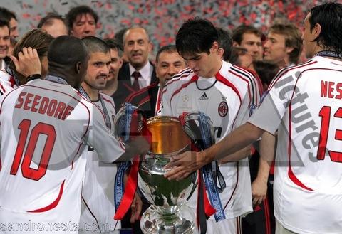 ac milan the champions