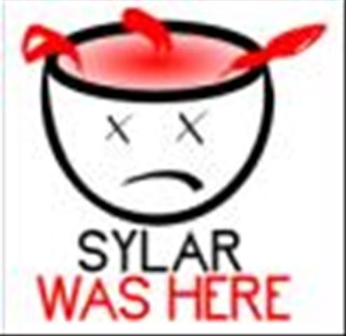again, sylar was ere!