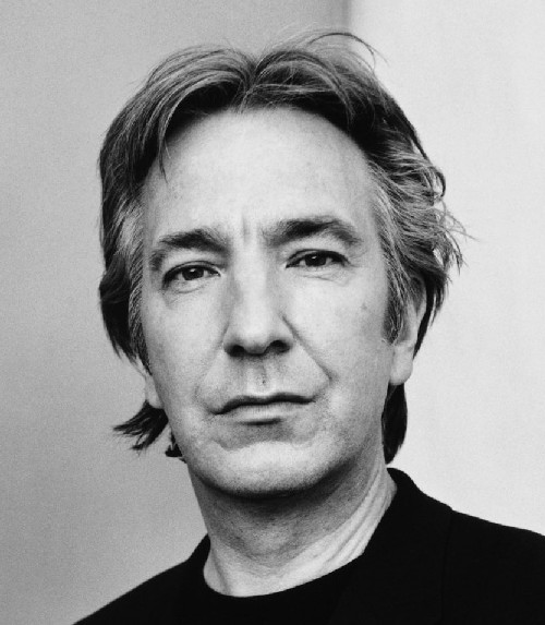 Alan Rickman Photo on disney rocking chair