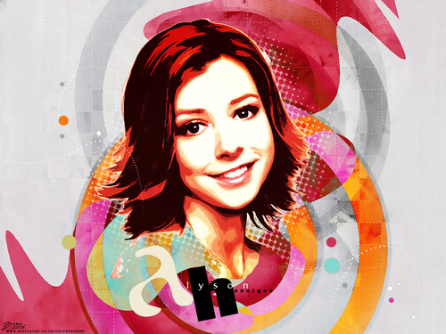 Alyson Hannigan wallpaper titled alyson