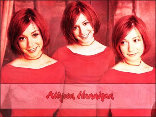 Alyson Hannigan achtergrond called alyson hannigan