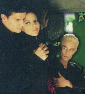 angel,spike & dru