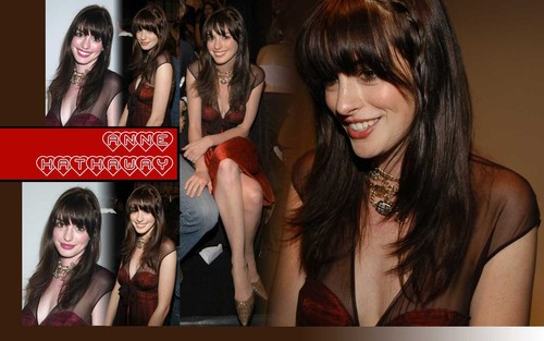 anne hathaway - anne-hathaway Wallpaper