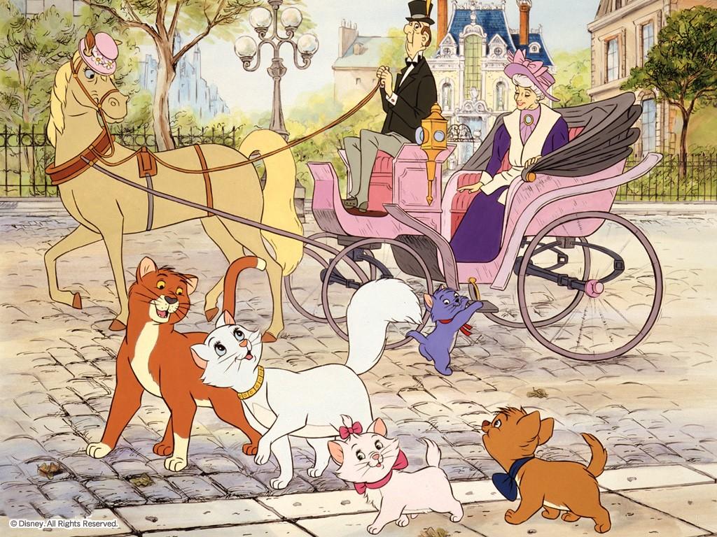Wallpapers Aristocats-wallpaper-childhood-memories-216217_1024_768