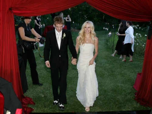 avril lavigne's wedding