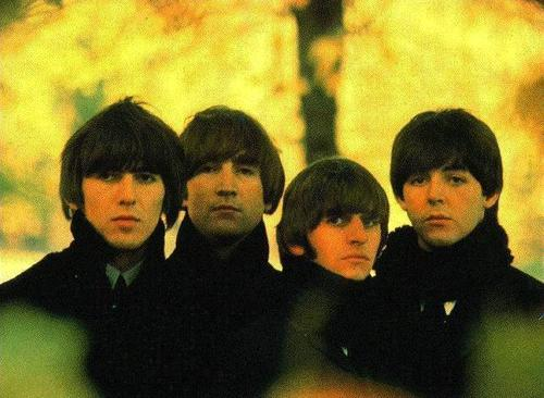 beatles group shot