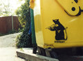 bin rat - banksy photo