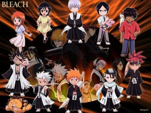 Chibi wallpaper called bleach