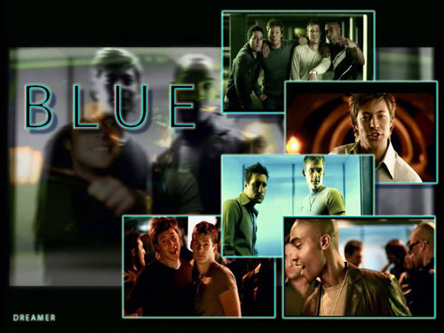 blue band - blue-boyband Wallpaper