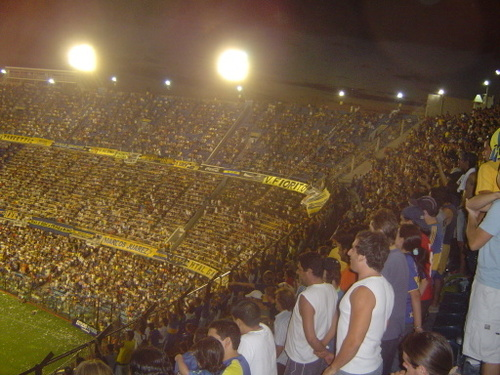 boca junior stadium