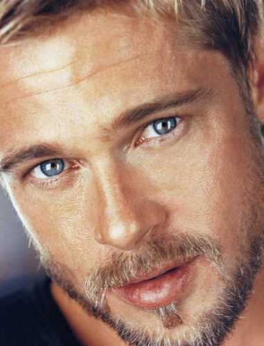 Brad Pitt karatasi la kupamba ukuta entitled brad pitt