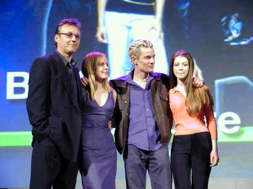 Buffy the Vampire Slayer karatasi la kupamba ukuta called btvs-WB promo tour