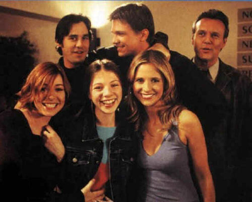 btvs-behind the scene