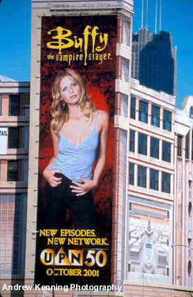 btvs-big billboard in Chicago