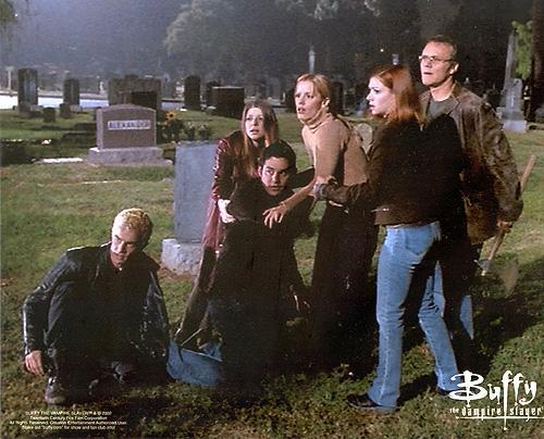 Buffy The Vampire Slayer kertas dinding called btvs
