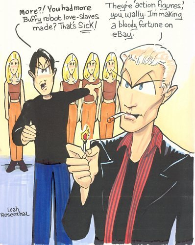 buffy cartoon