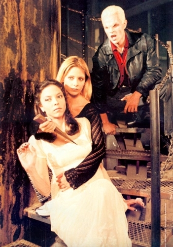 buffy,dru & spike