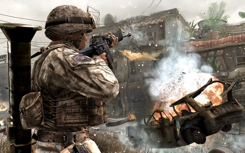 Call of Duty 4 wallpaper called call of duty 4