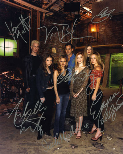 cast autographs