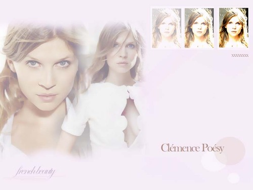 clemence poesy wallpaper - clemence-poesy Wallpaper