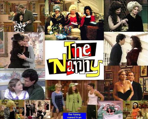 The Nanny wallpaper titled collages,fran ect