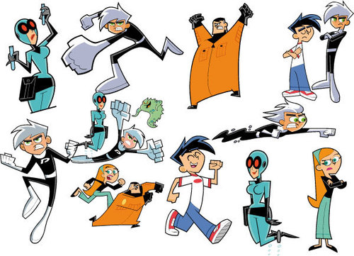 danny phantom and family