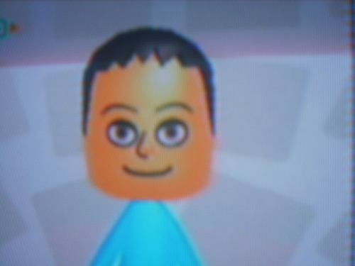 Nintendo wallpaper entitled dave as a Mii