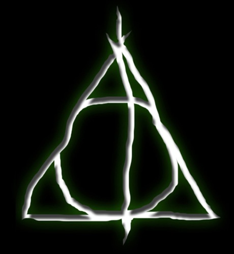 Harry Potter & the Deathly Hallows wallpaper called deathly hallows symbol