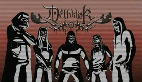 dethklok - metalocalypse Fan Art