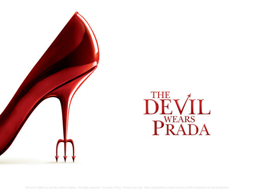 The Devil Wears Prada karatasi la kupamba ukuta entitled devil wears prada