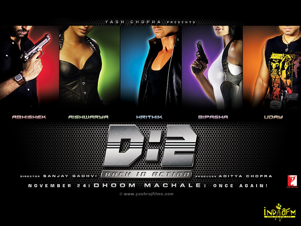 dhoom 2 - Bollywood Wallpaper (379020) - Fanpop