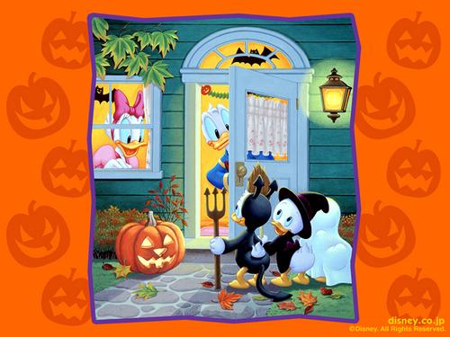 Disney Halloween Hintergrund