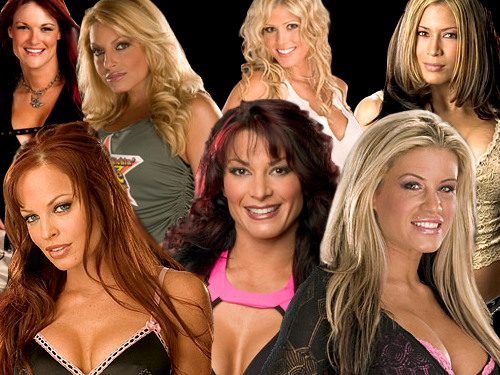 Professional Wrestling wallpaper titled divas
