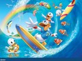 donald surfing wallpaper - childhood-memories wallpaper