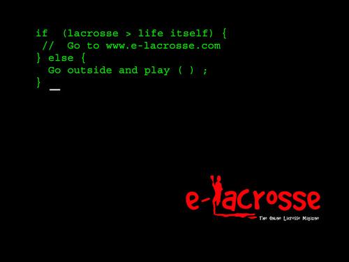 e-lacrosse پیپر وال