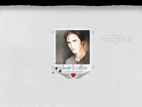 Twilight Series wallpaper titled edward cullen wallpaper