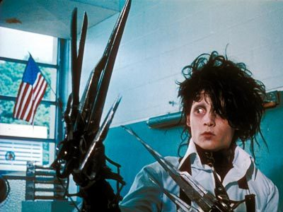 Edward Scissorhands wallpaper titled edward